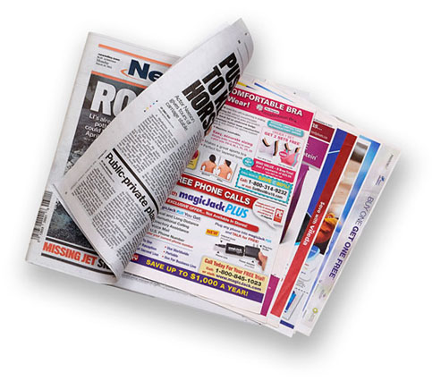 advantages of using newspapers