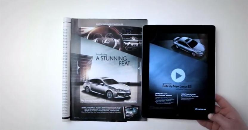 Lexus CinePrint Ad