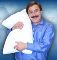 Mike Lindell is the CEO of MyPillow, the most comfortable pillow you'll ever own