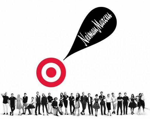 TV advertising Target and Neiman Marcus