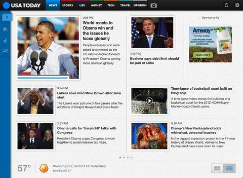 USA Today iPad App