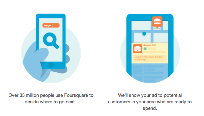 Foursquare Brings Local Advertising to New Heights