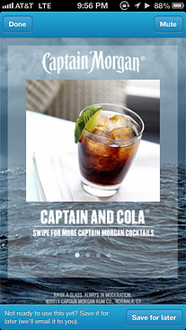 Captain Morgan targets consumers with Foursquare ads