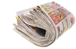 newspapers are stuffed with preprints and inserts for black friday, driving consumers to action and helping retailers finish the year strong