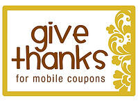 Give Thanks for Mobile Coupons